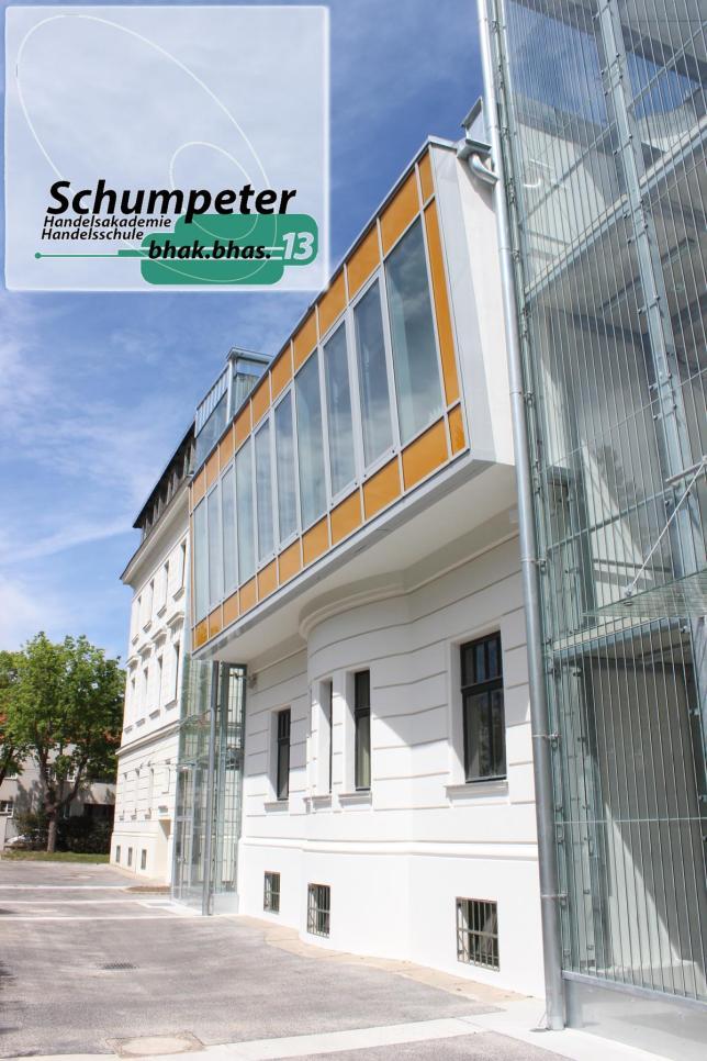 Schumpeter BHAK/BHAS Wien 13 Ansicht Garten