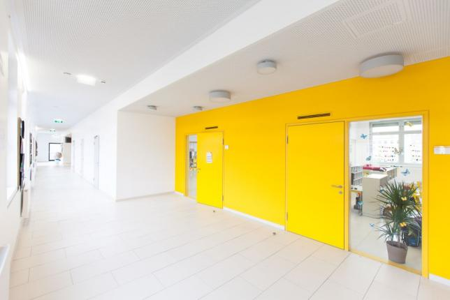 Zugang zu den Klassenräumen