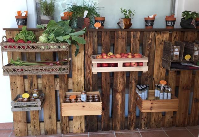 Bio Gemüse im von SchülerInnen geführten Shop_1