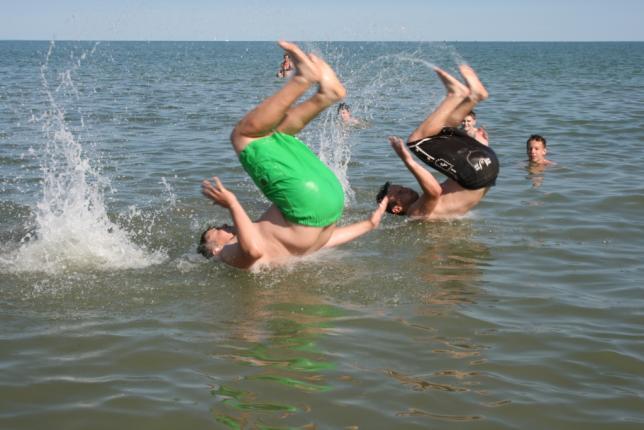 Schulsportwoche in Caorle Juni 2015
