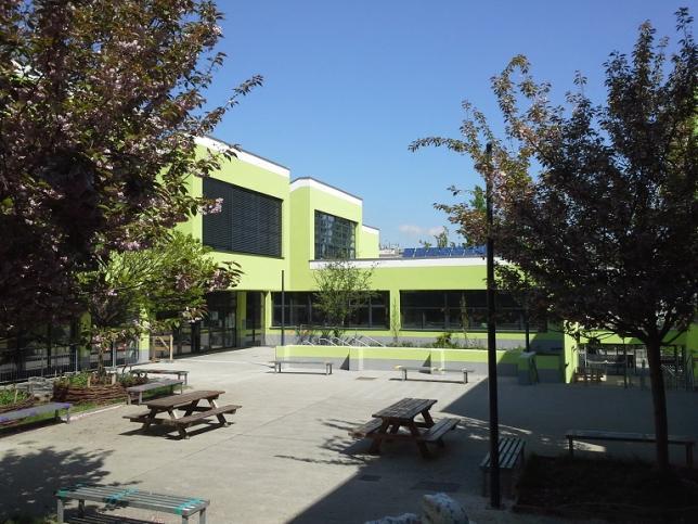Schulhof der antonkriegergasse